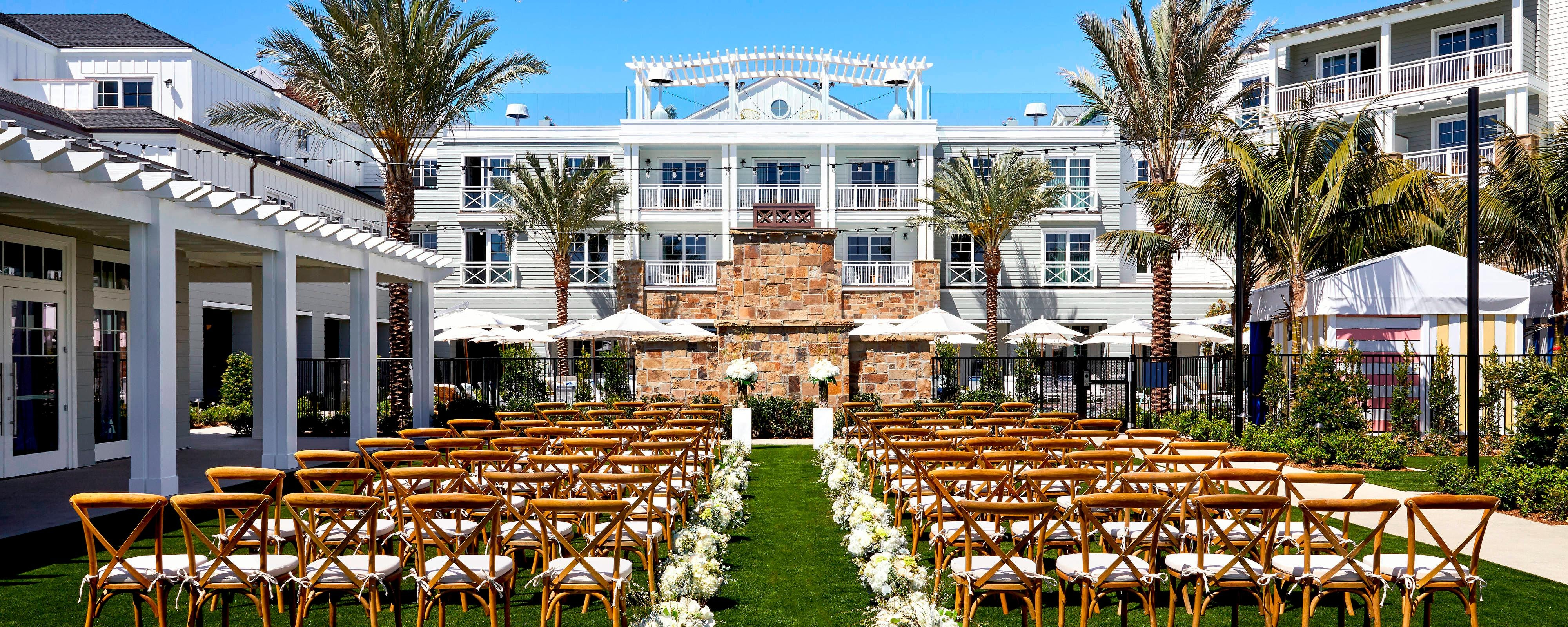 Wedding Planners And Venues In Newport Beach Lido House Autograph Collection