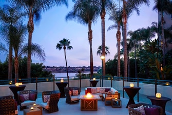 Patio Social At Our Newport Beach Hotel S