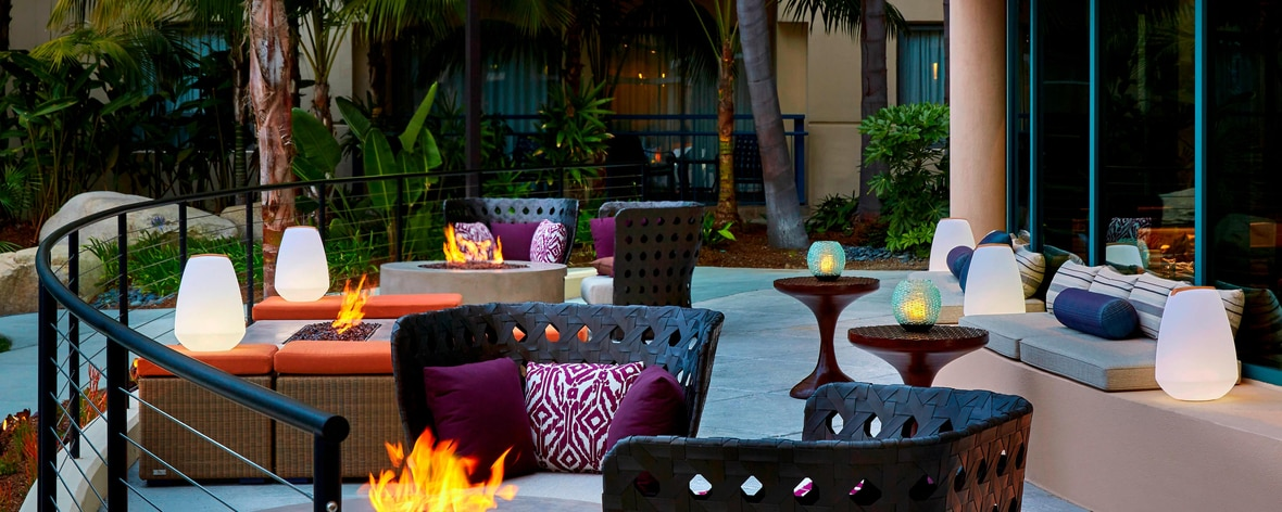 outdoor patio newport beach