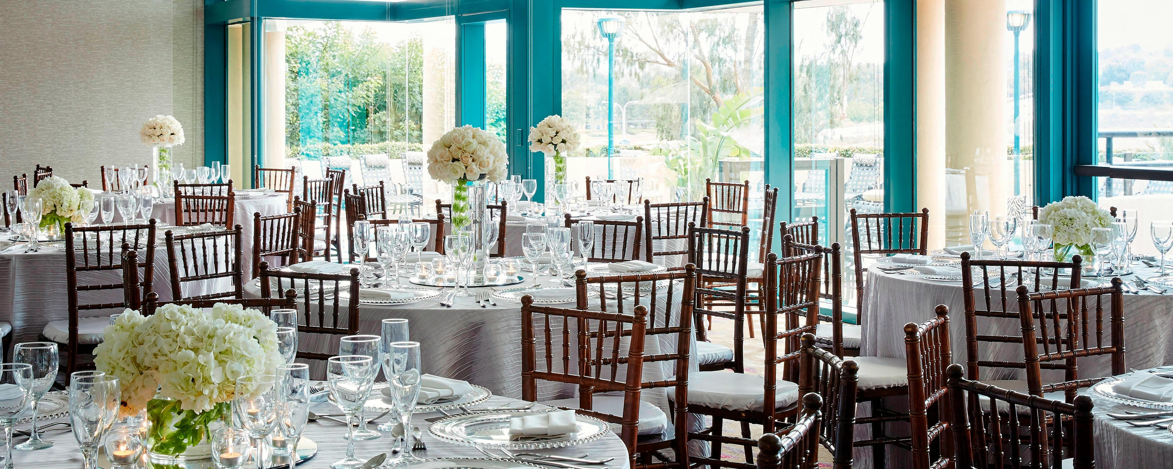 Newport Beach Ca Wedding Reception