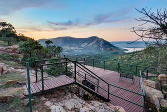 Protea Hotel Hunters Rest Viewing Deck