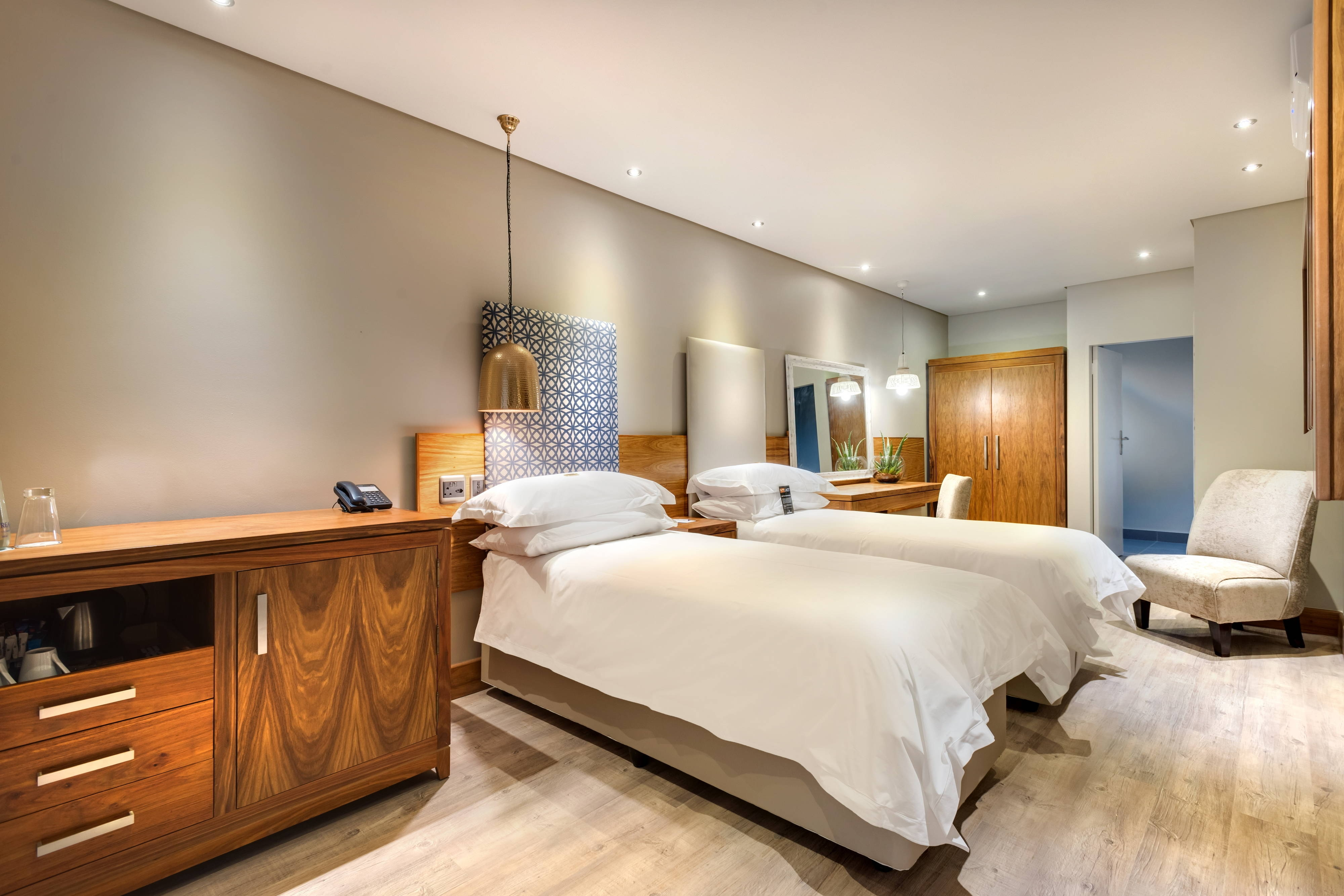 Standard-Gästezimmer mit Twin-Bett