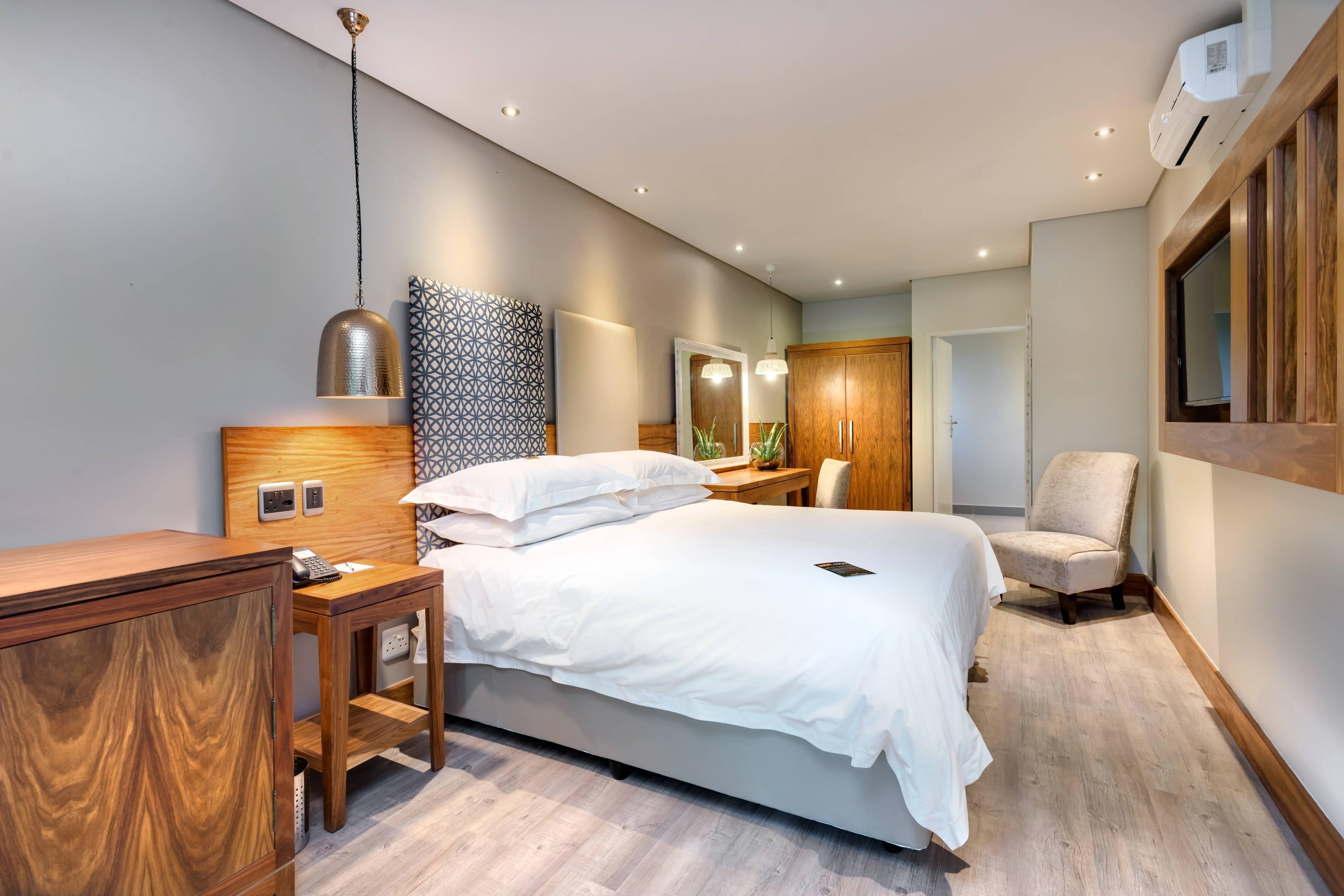 Luxus-Gästezimmer mit Doppelbett