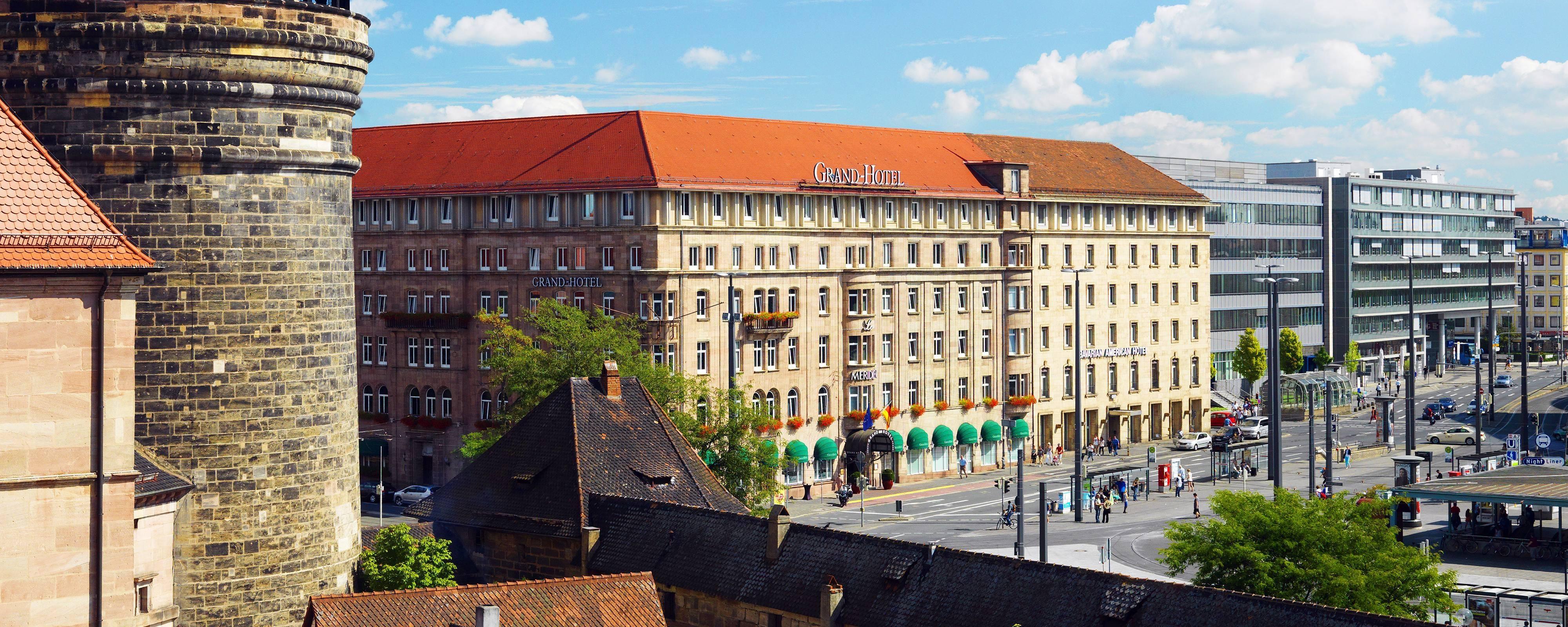 Esterno Le Meridien Grand, Norimberga