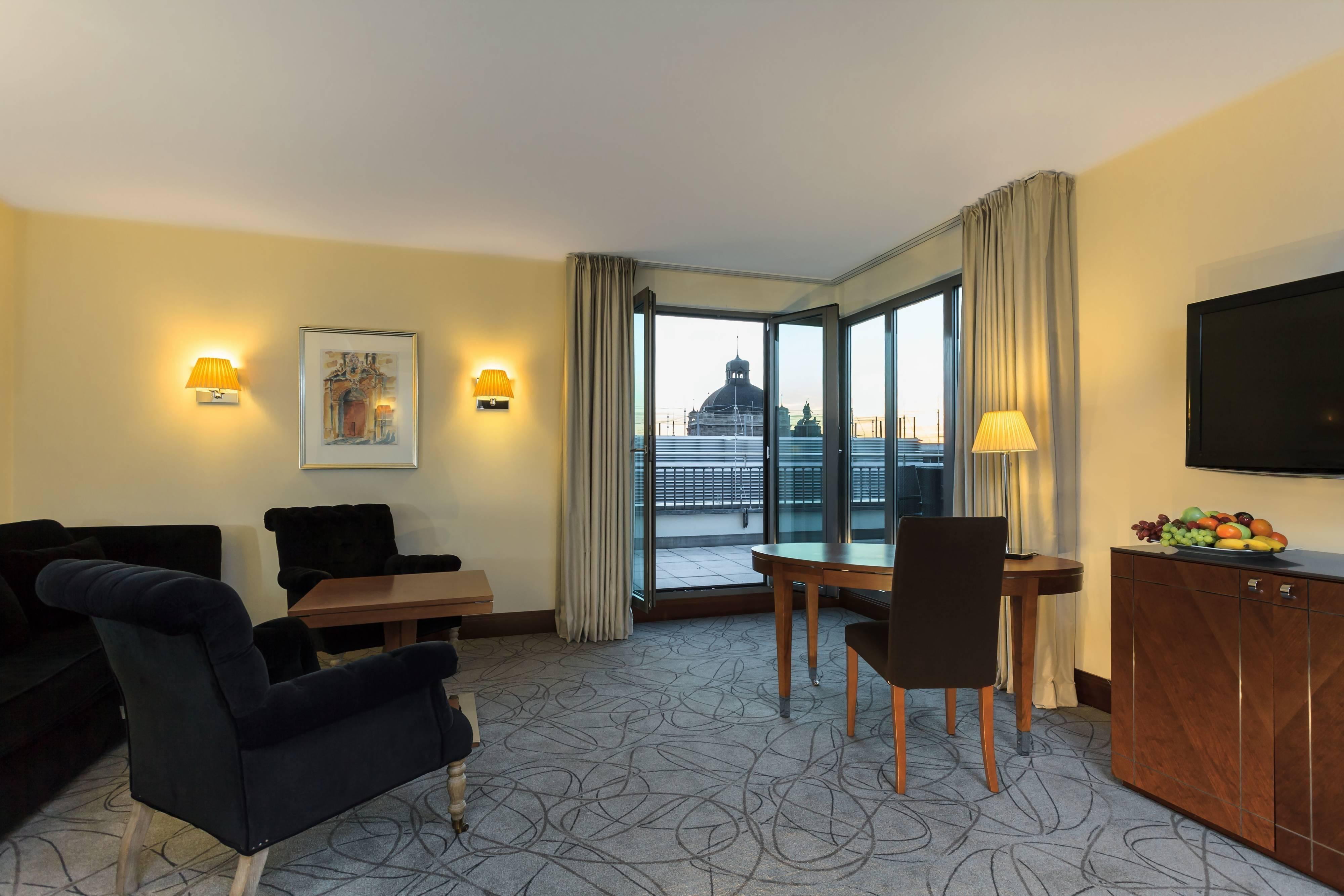Suite penthouse – salon