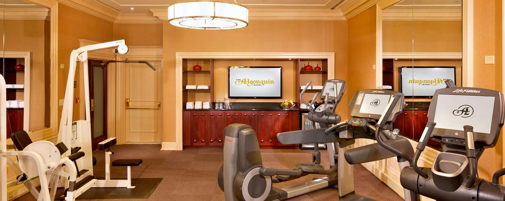 Times Square hotel fitness center