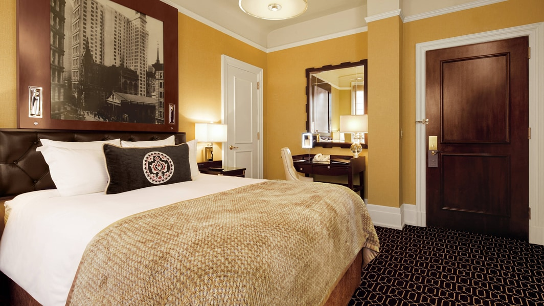 맨해튼 미드타운 호텔 퀸 룸