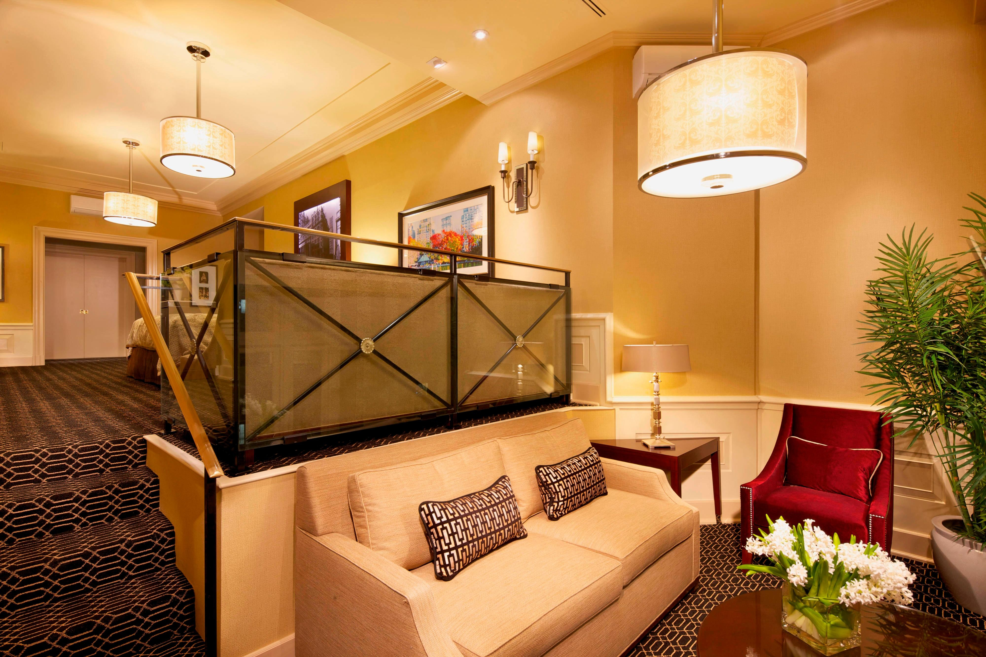 Barrymore Suite Living Area