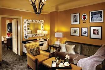 Historic New York hotel suite