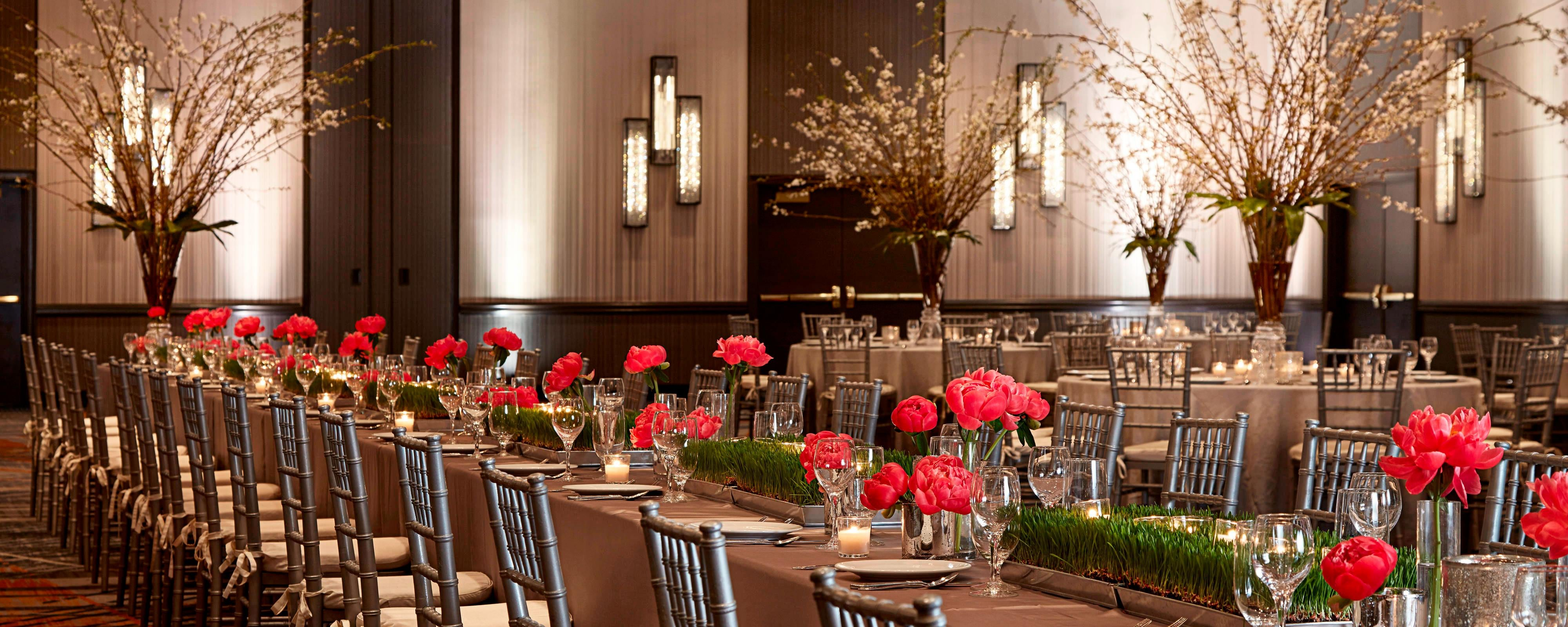 Brooklyn wedding hall venues new york marriott at the for Adams salon brooklyn ny
