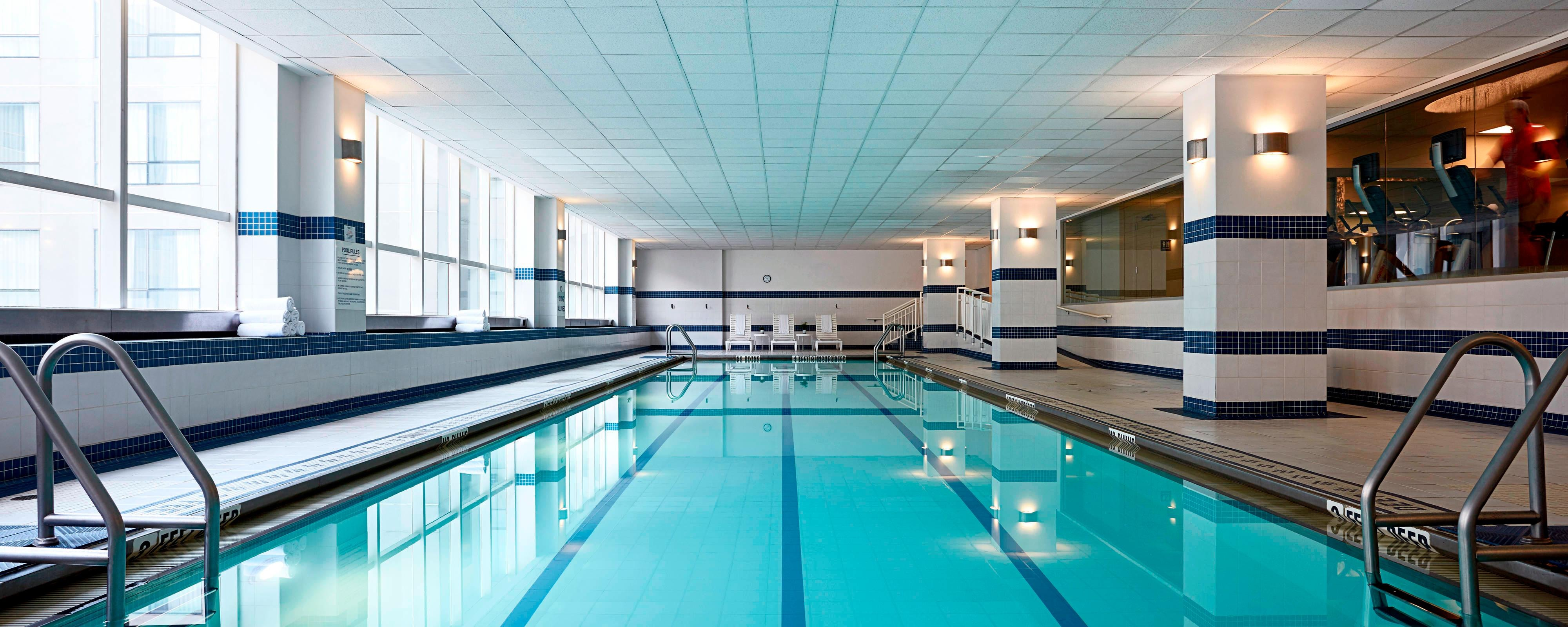 Brooklyn Hotel with Indoor Pool | New York Marriott at the