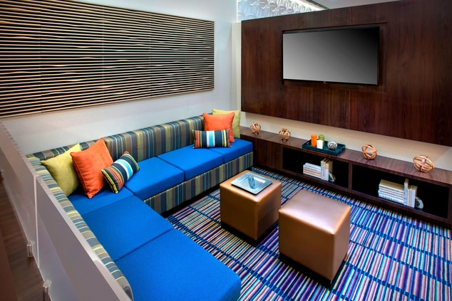 Lobby Theater Seating Area