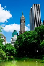 Panorama urbain de Midtown et Central Park, New York