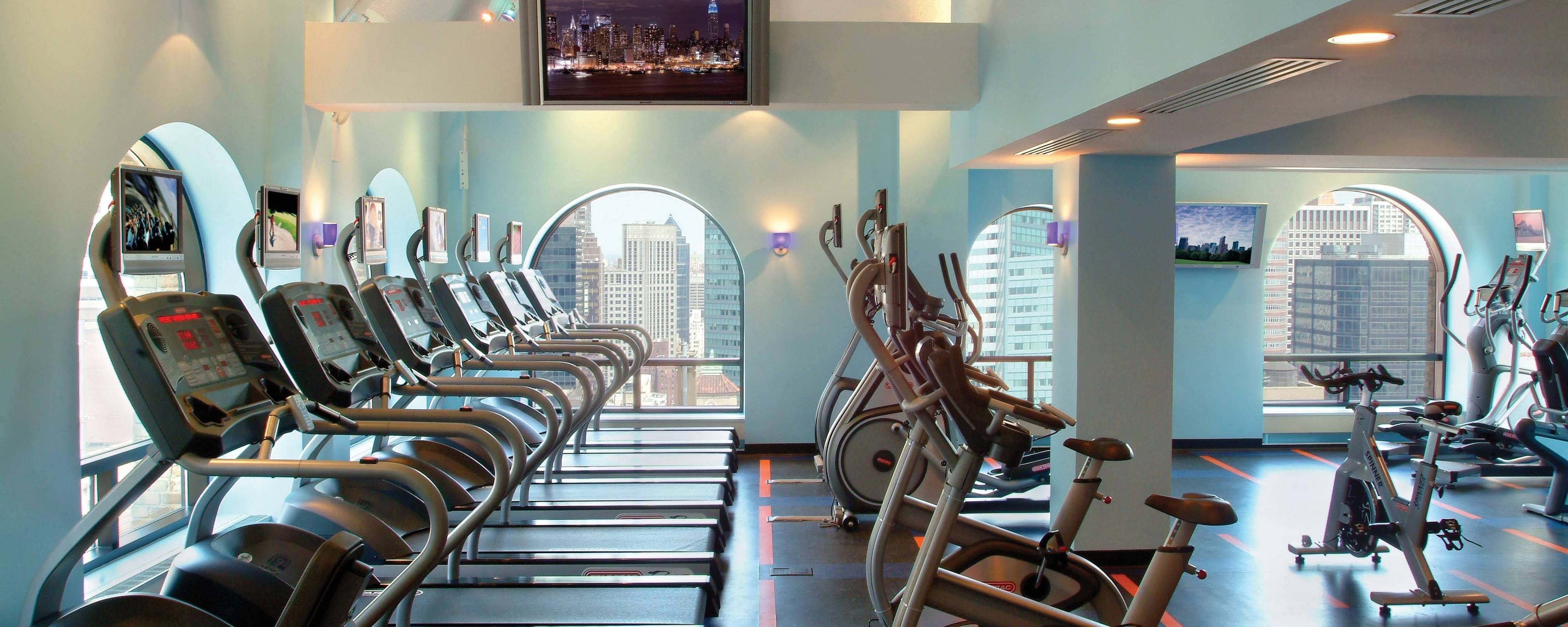 Gimnasio del Marriott East Side