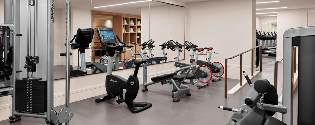 Palestra e centro fitness presso New York EDITION