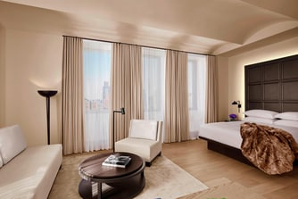 Experience luxury hotel suites at The New York EDITION.
