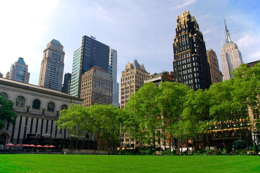 Bryant Park New York City