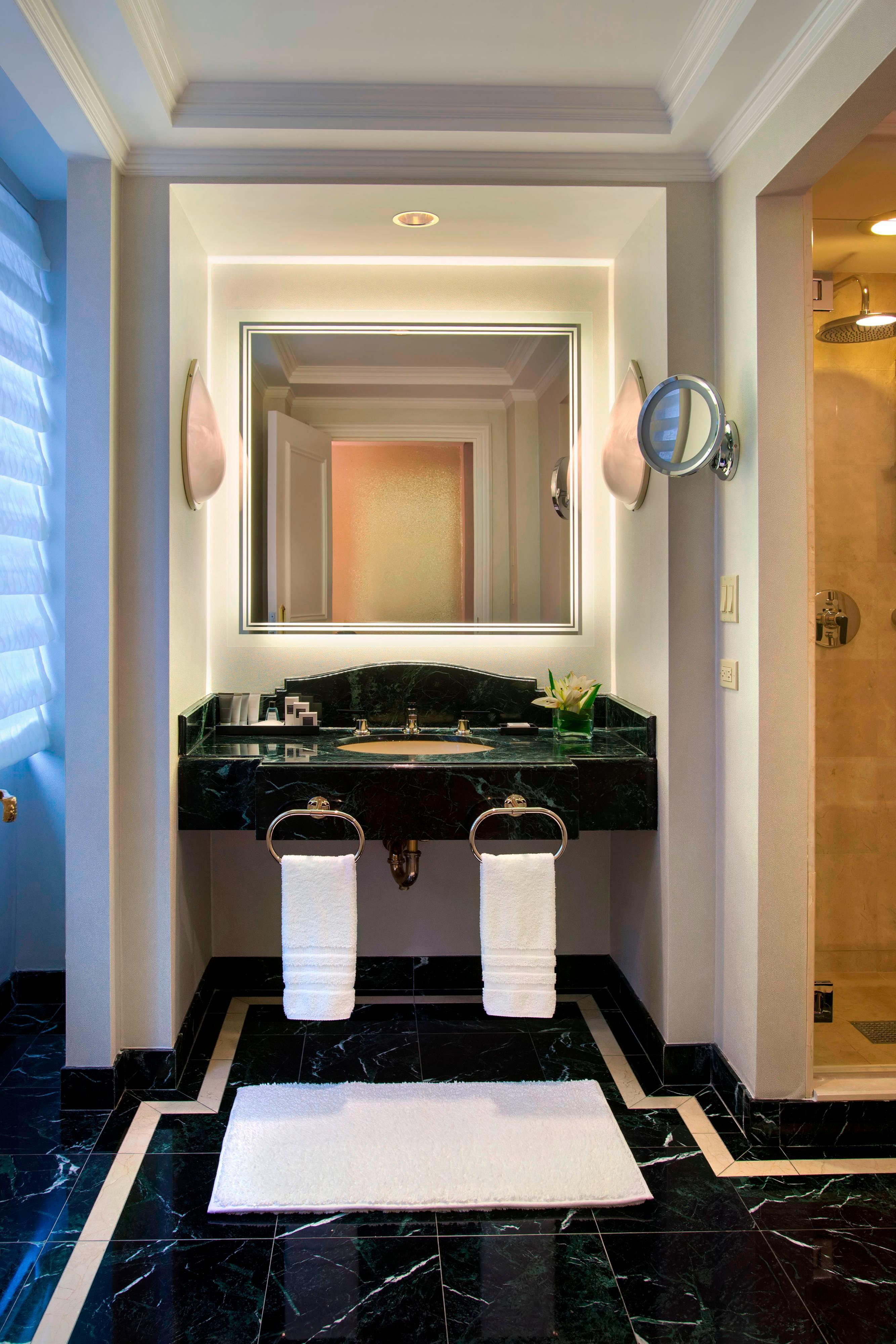 Ванная комната люкса JW Terrace