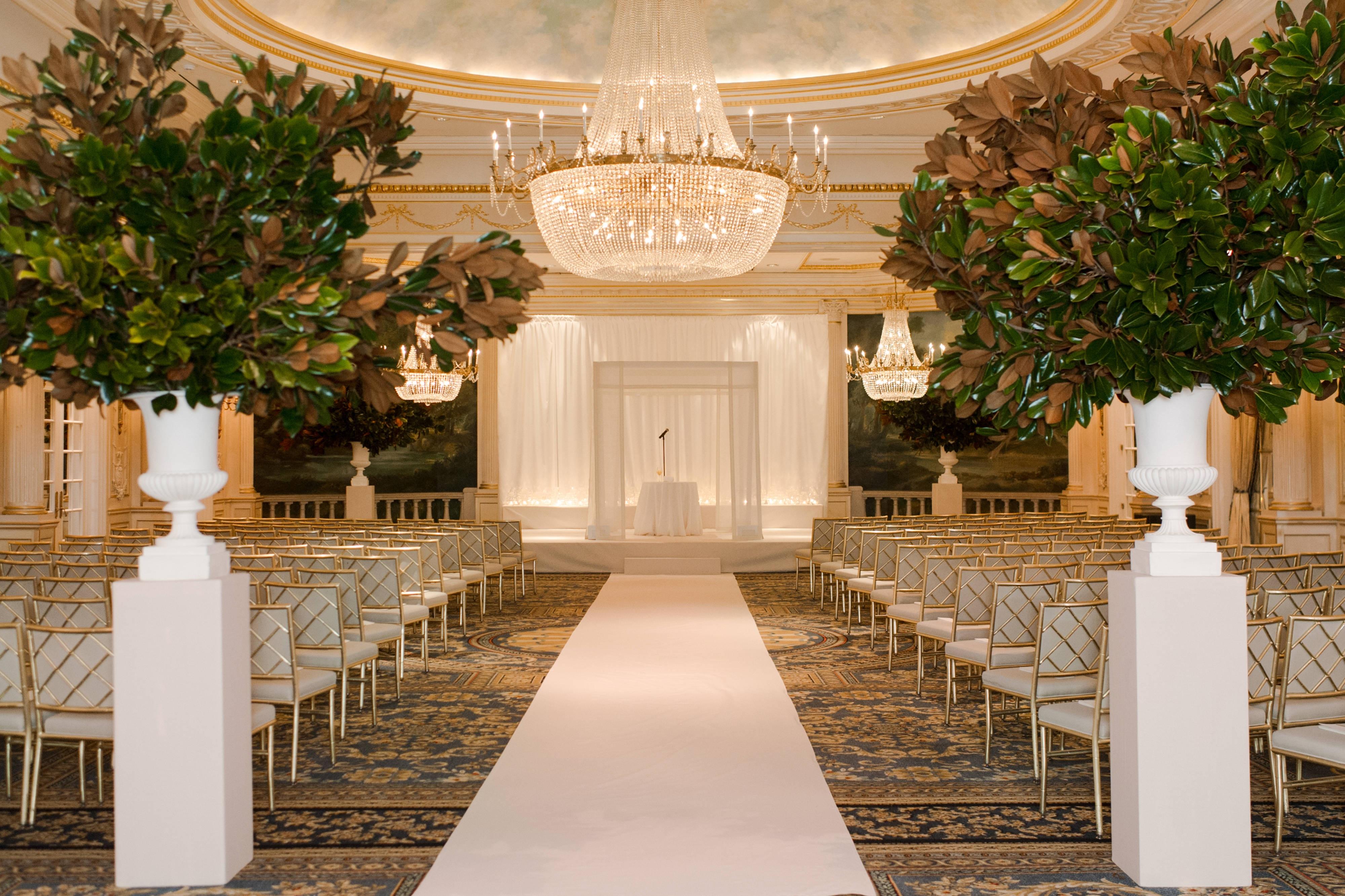 Ceremonia en el Grand Salon