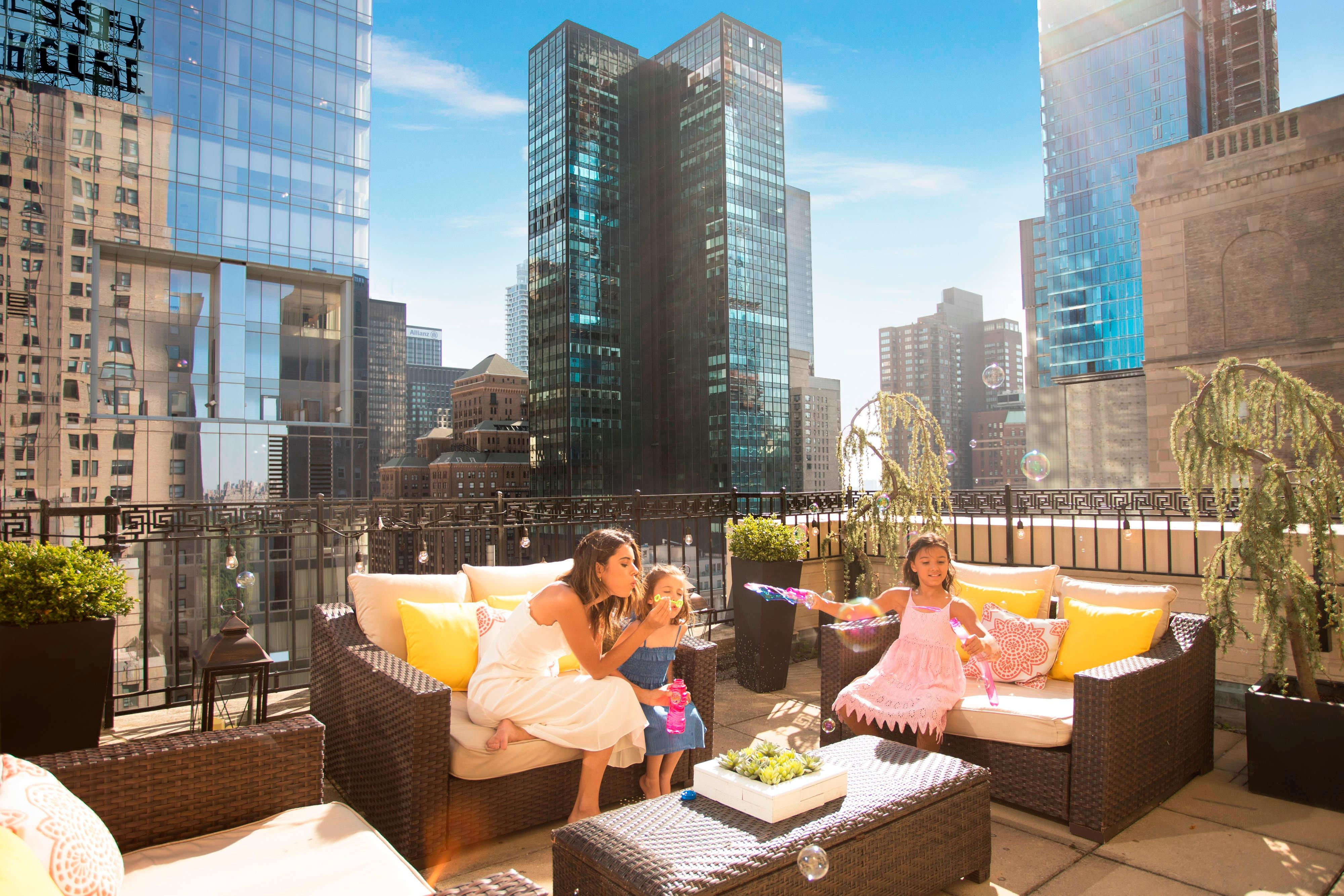Suite Accommodations - Outdoor Terrace