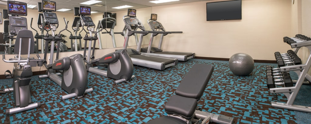 Gimnasio del hotel de Lower East Side en Manhattan