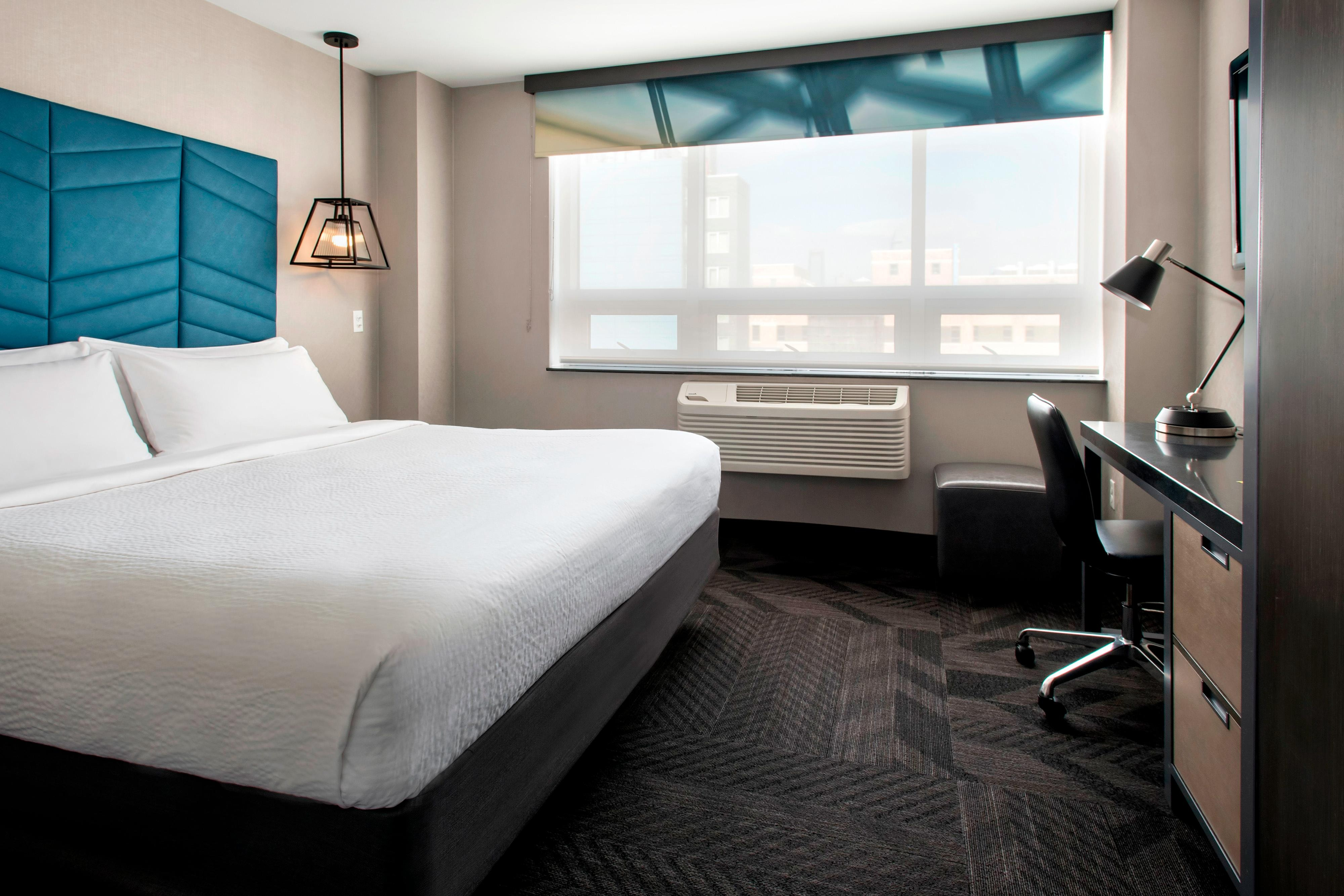 1 King City View Guest Room