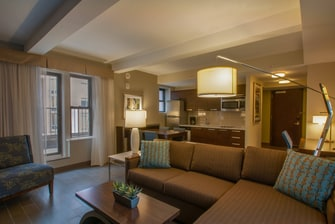 Executive Premium Living Area