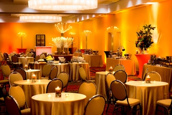 Ballroom in Long Island hotel