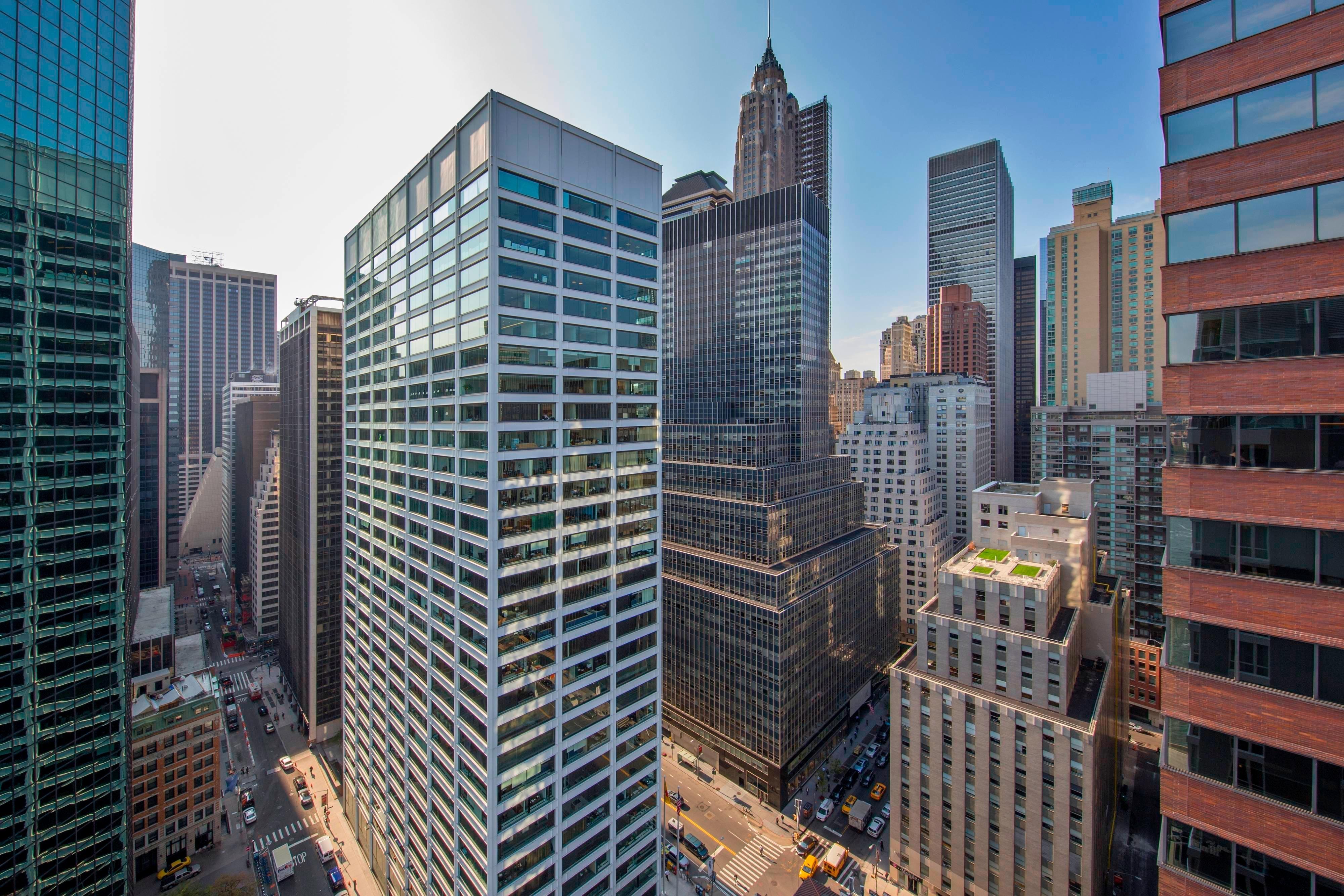 Hotel in der Innenstadt von Manhattan mit Stadtblick