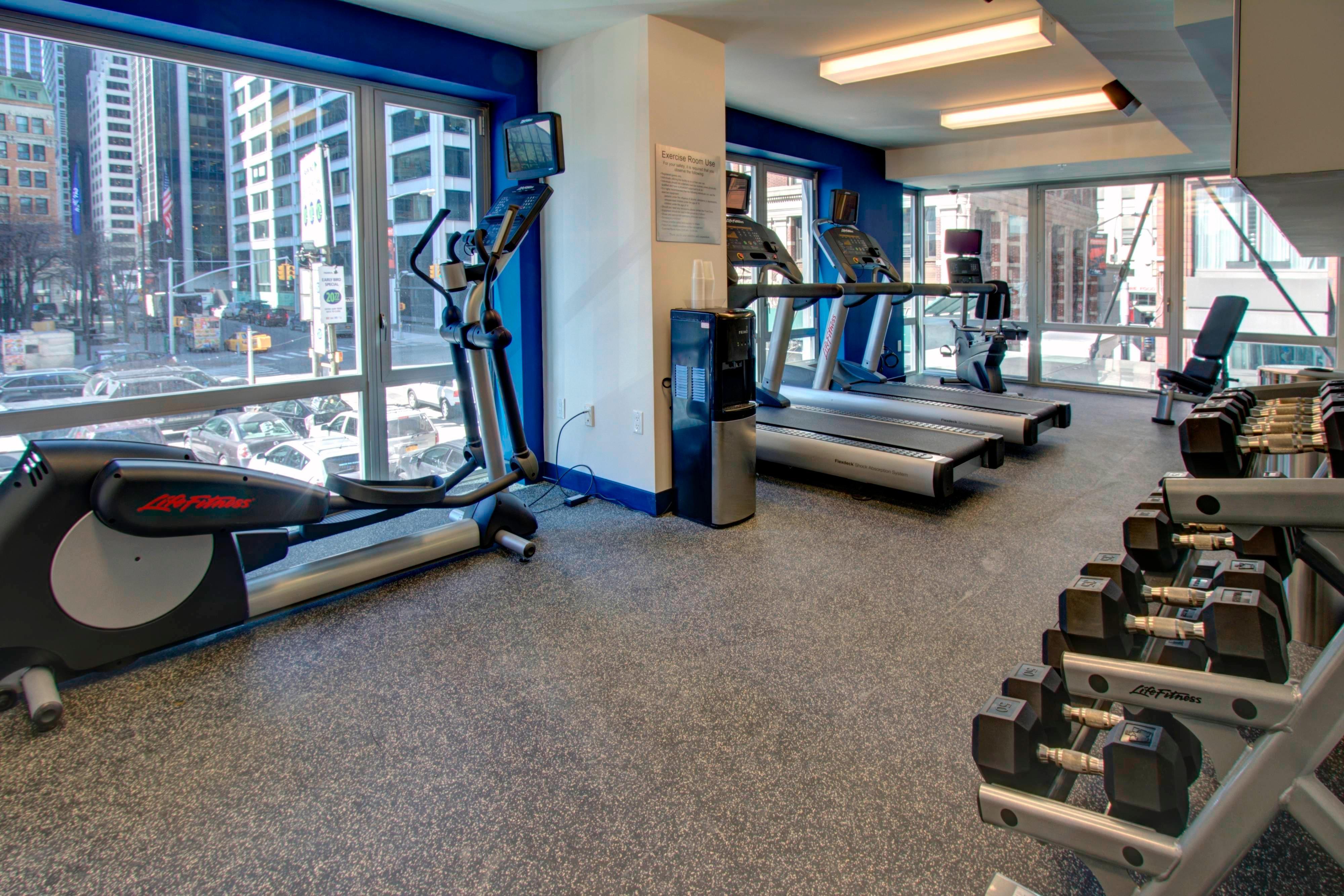 Fitnesscenter in Hotel in Lower Manhattan