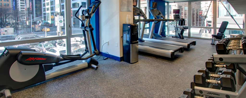 Fitnesscenter in Hotel in Lower Manhattan