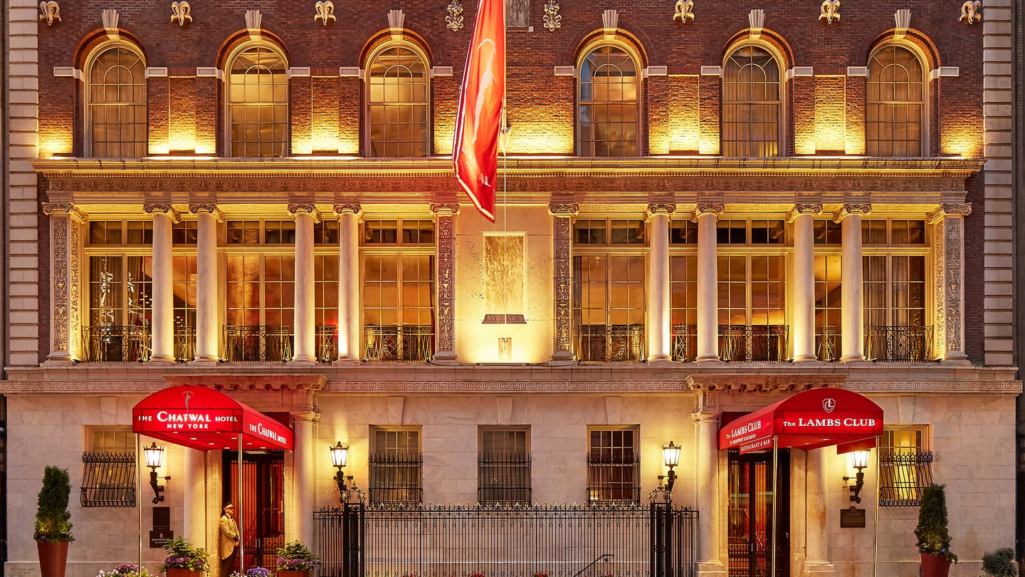 The Chatwal A Luxury Collection Hotel New York City New York Spg