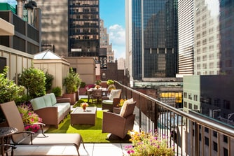 Producer Suite Penthouse Rooftop Garden