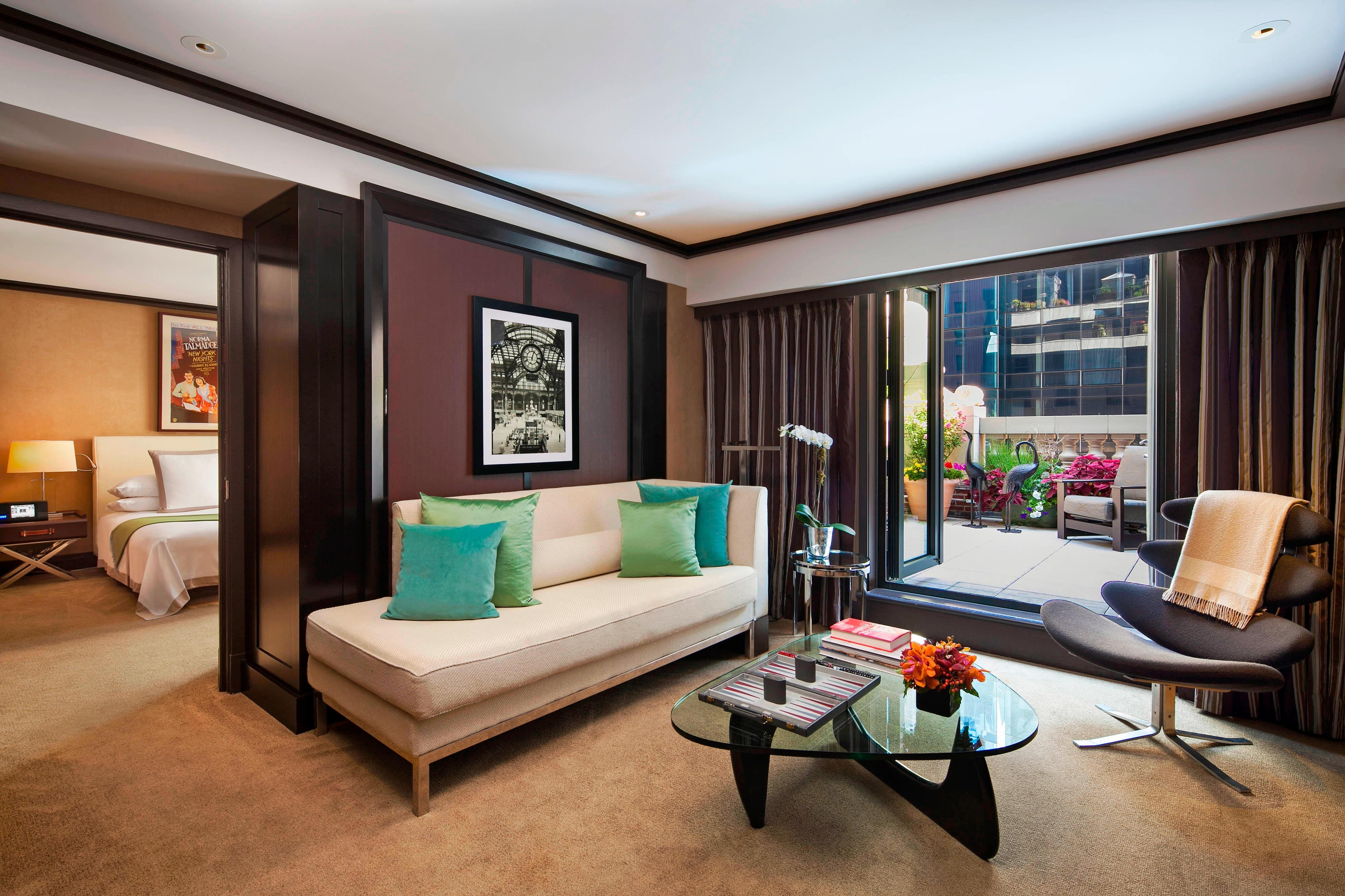 Suite Chatwal con una camera da letto