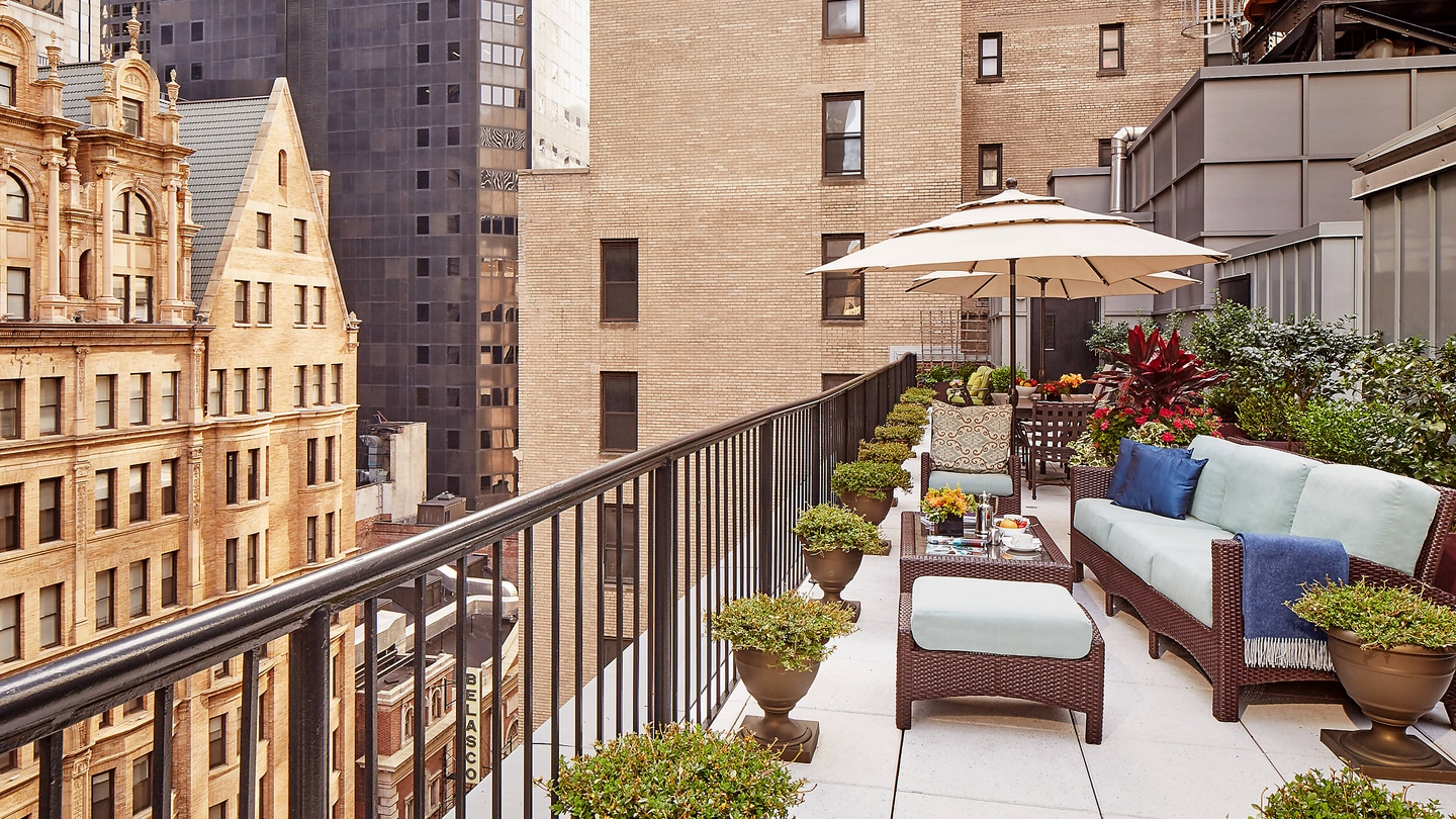 The Producer Suite Roof Deck