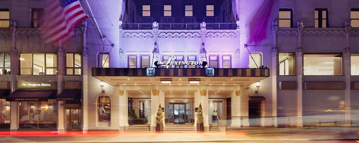 Boutique Midtown East Hotels In Nyc The Lexington Hotel