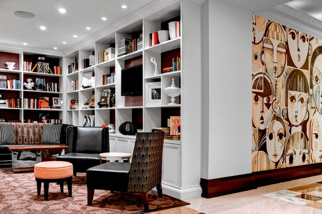 newly renovated hotel, New York City