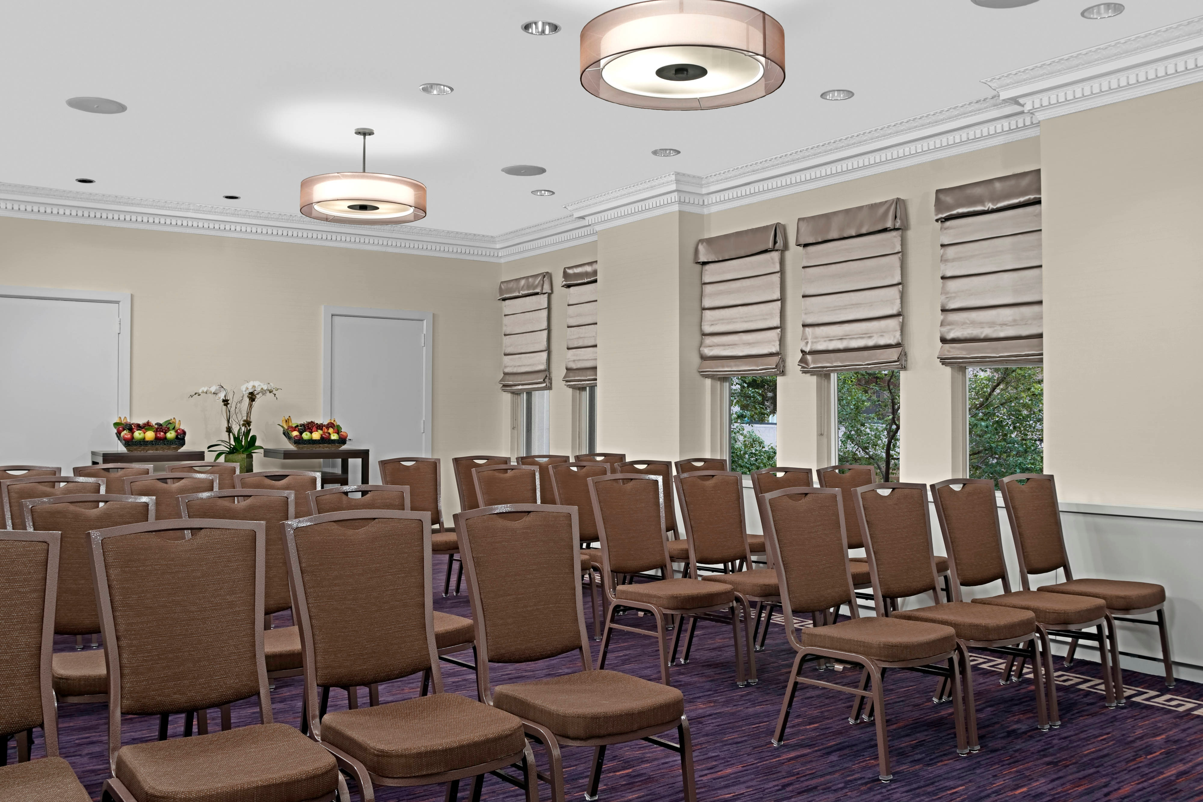 Hotel meeting space, meeting rooms,  boardroom, hotel function space.