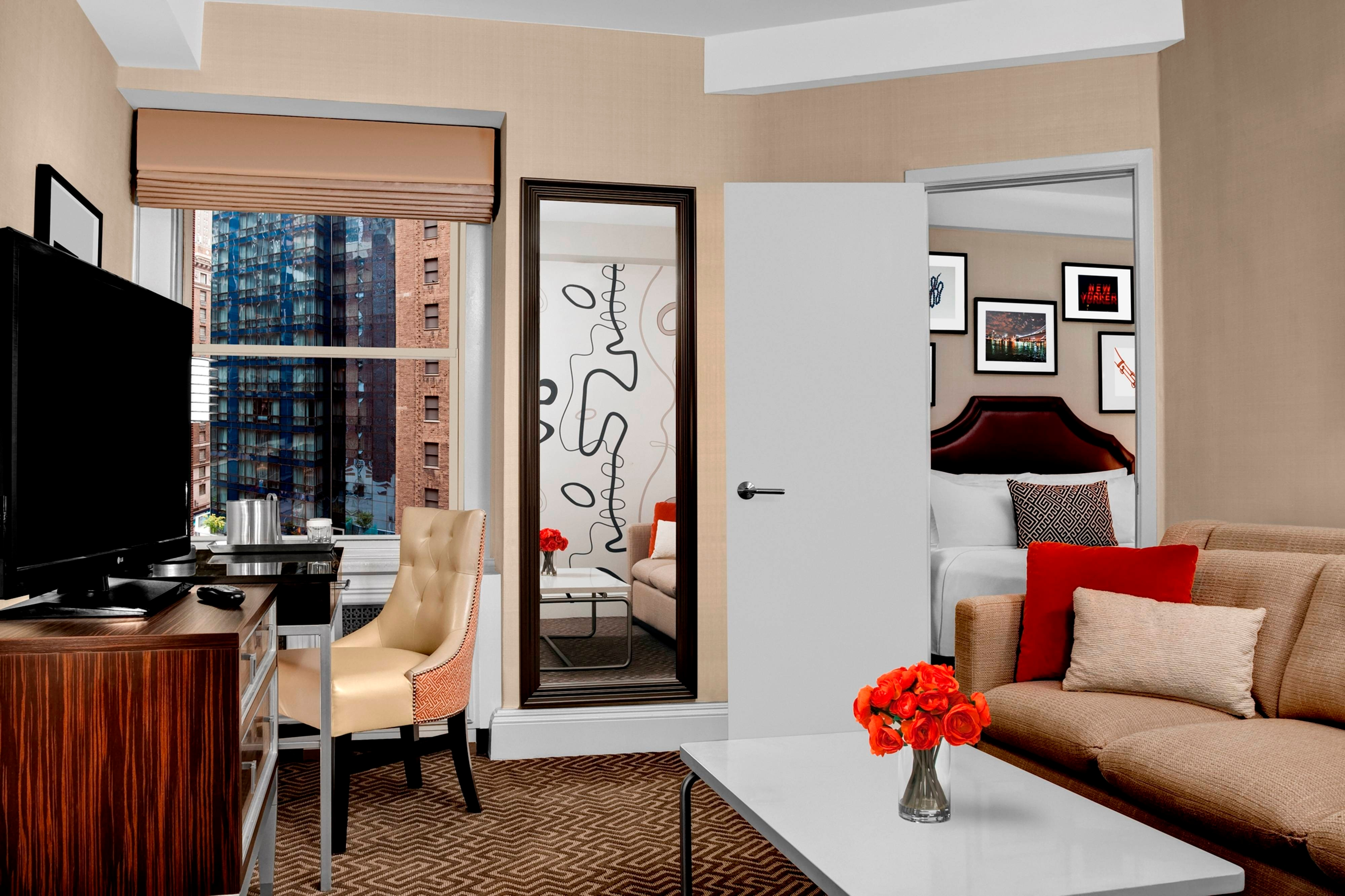 newly renovated junior suite, hotel