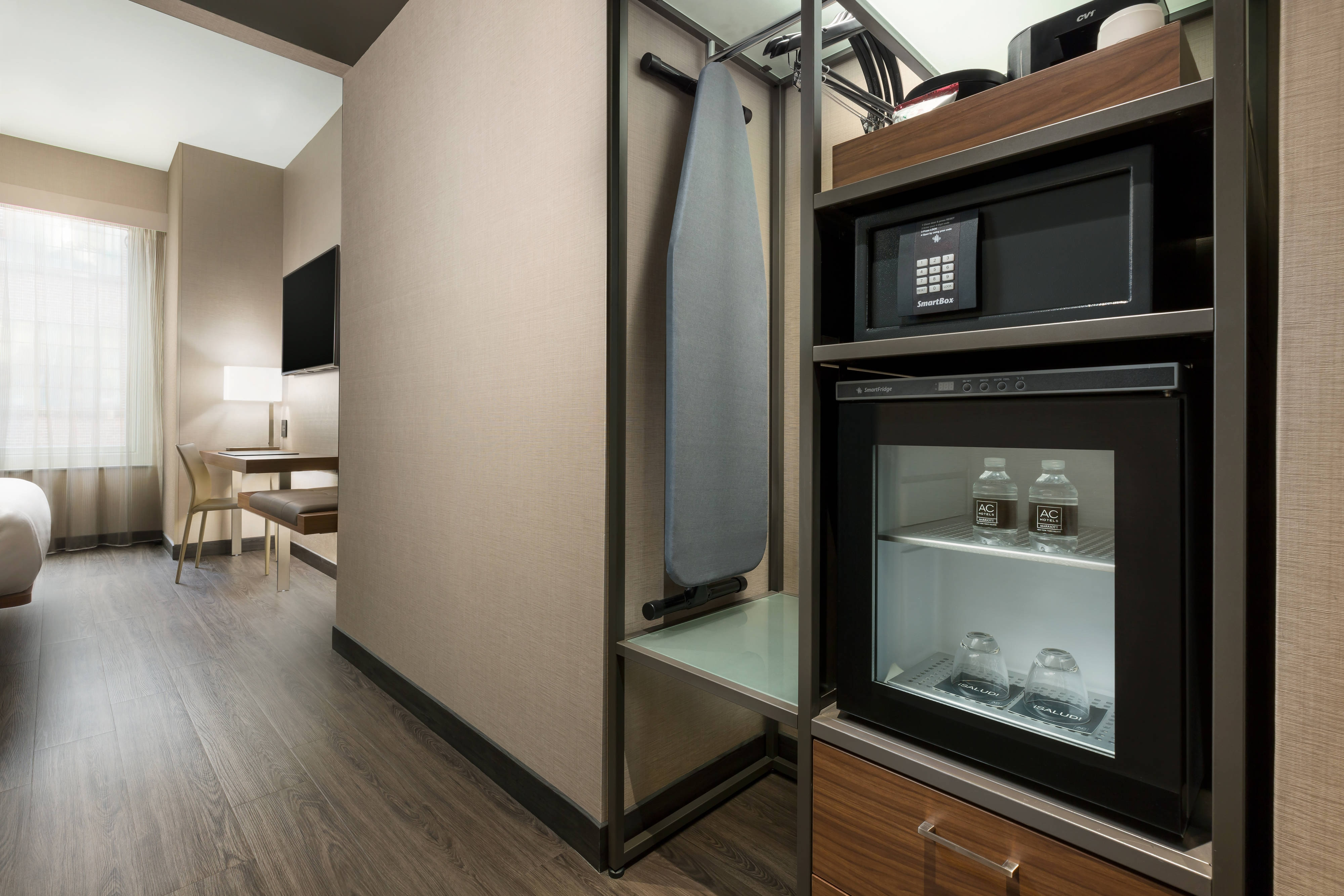 Hotel Rooms Amp Amenities Ac Hotel New York Times Square