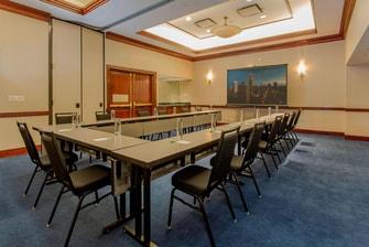 Sala de reuniones - Montaje en forma de U