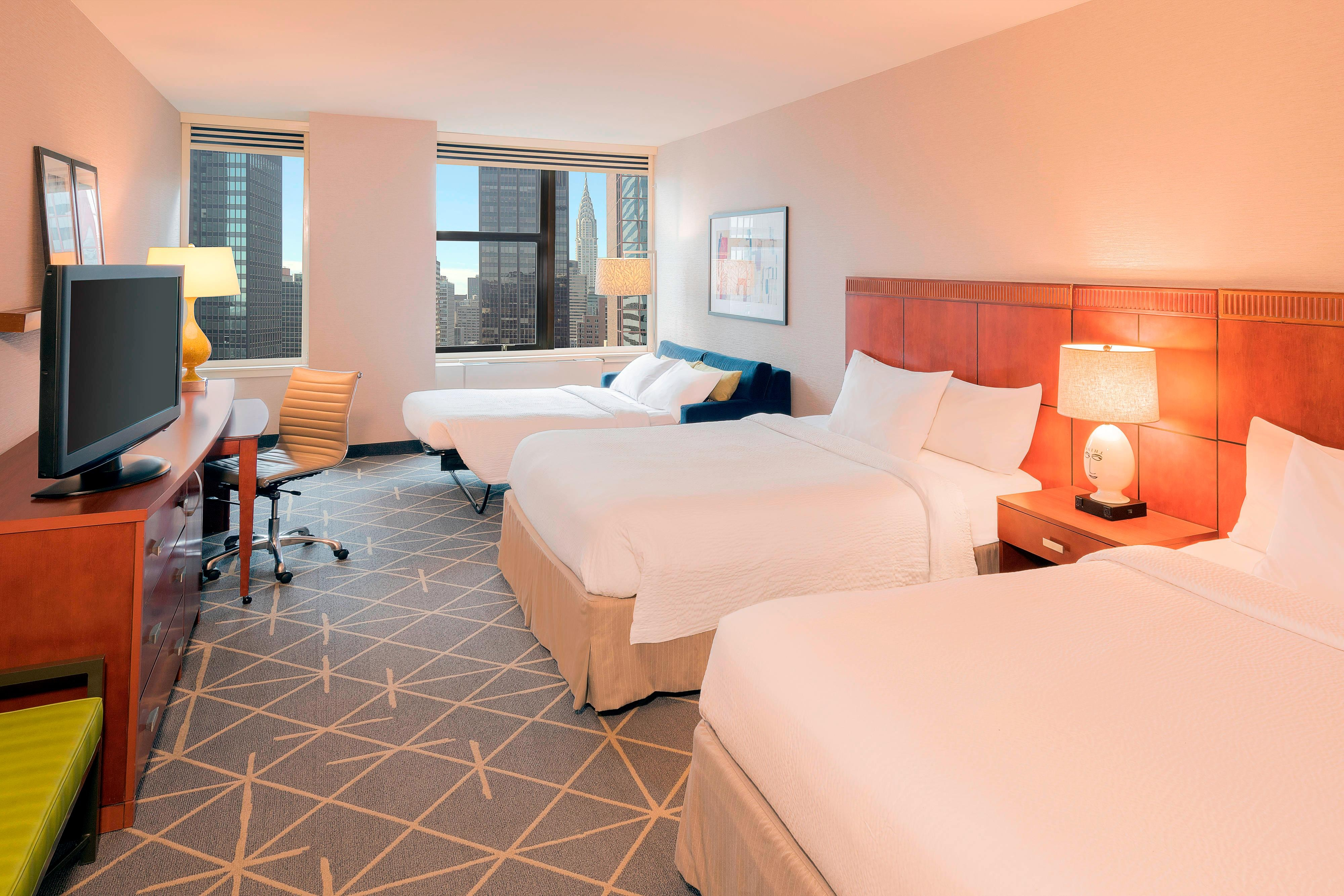 Hotel Rooms Midtown East, NYC | Courtyard New York
