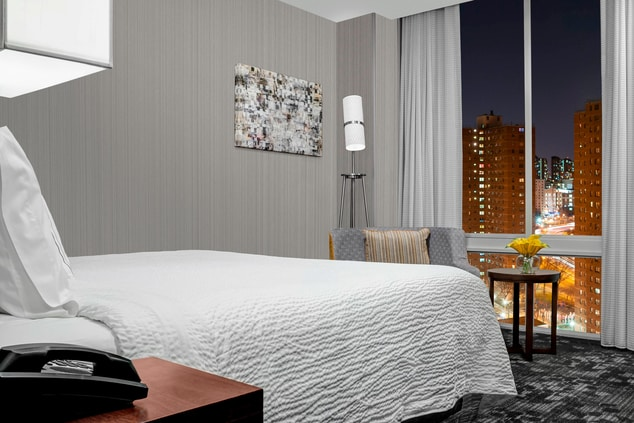 brand new modern guest rooms