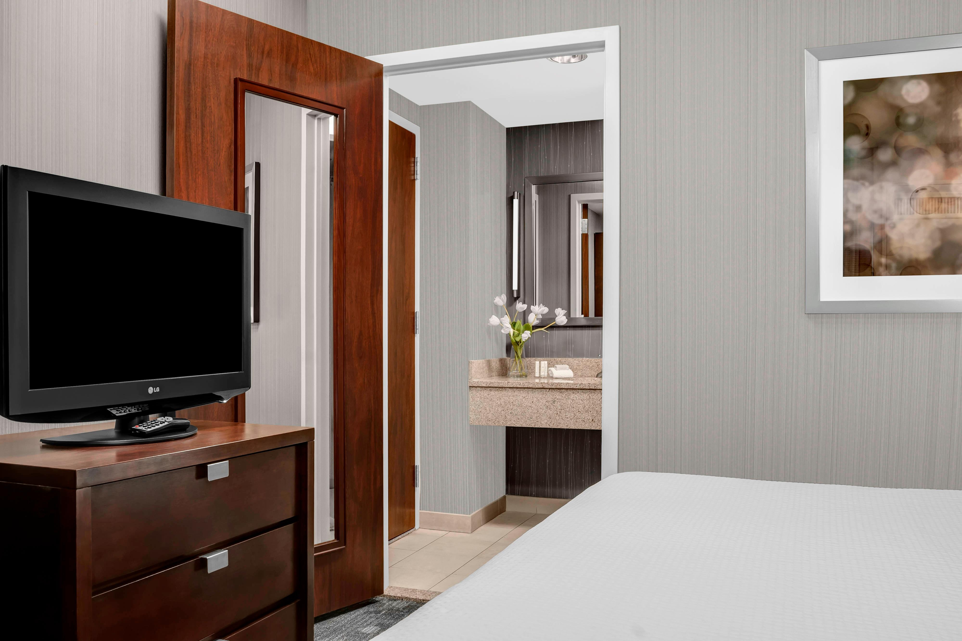 brand new guest rooms