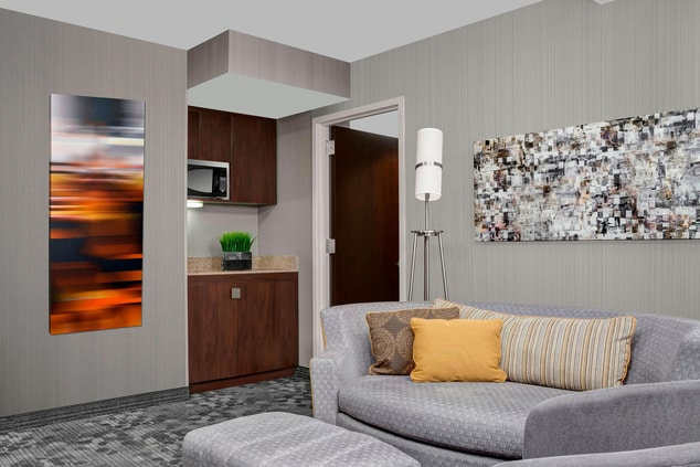 modern guest rooms