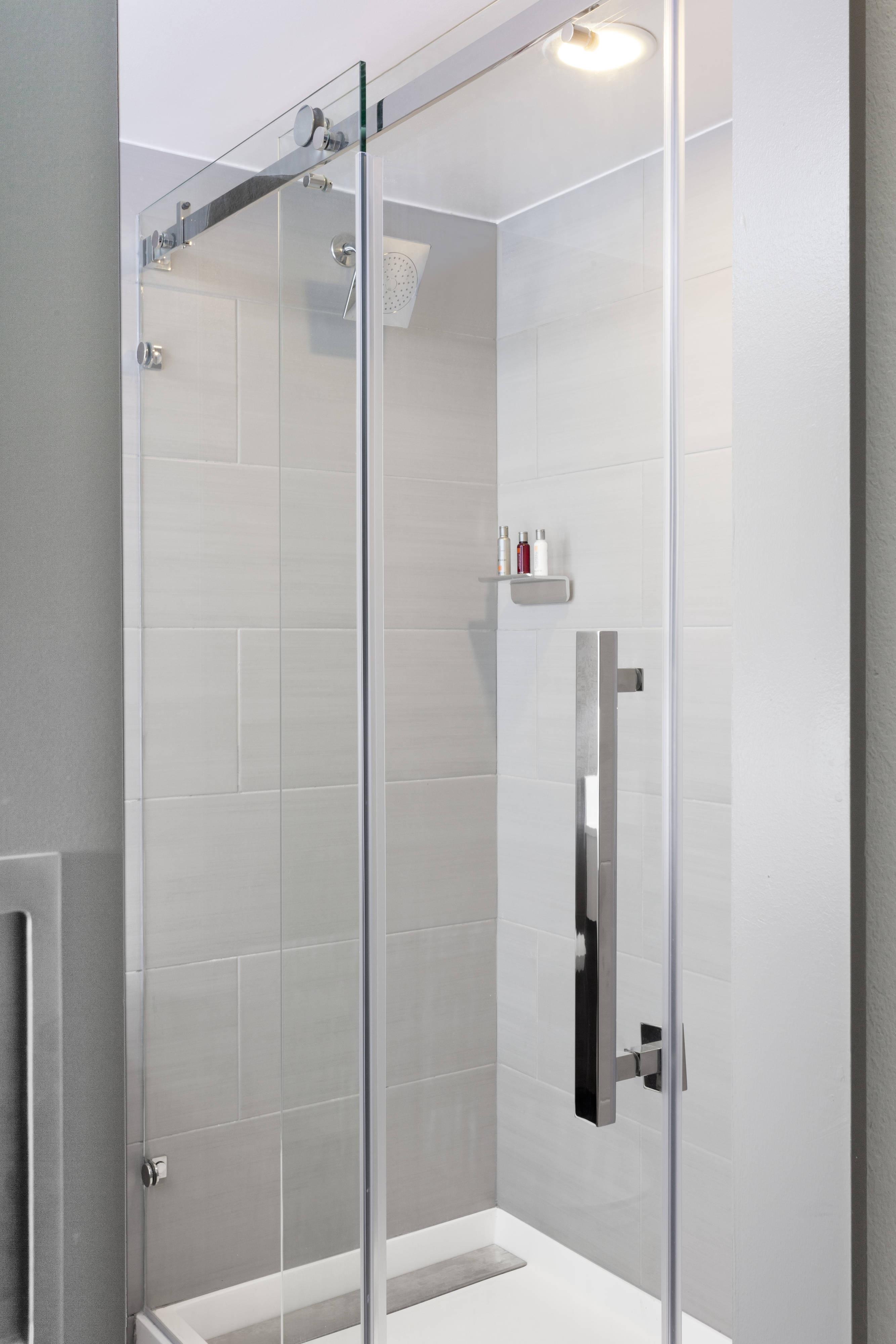 Dusche im Gästebad