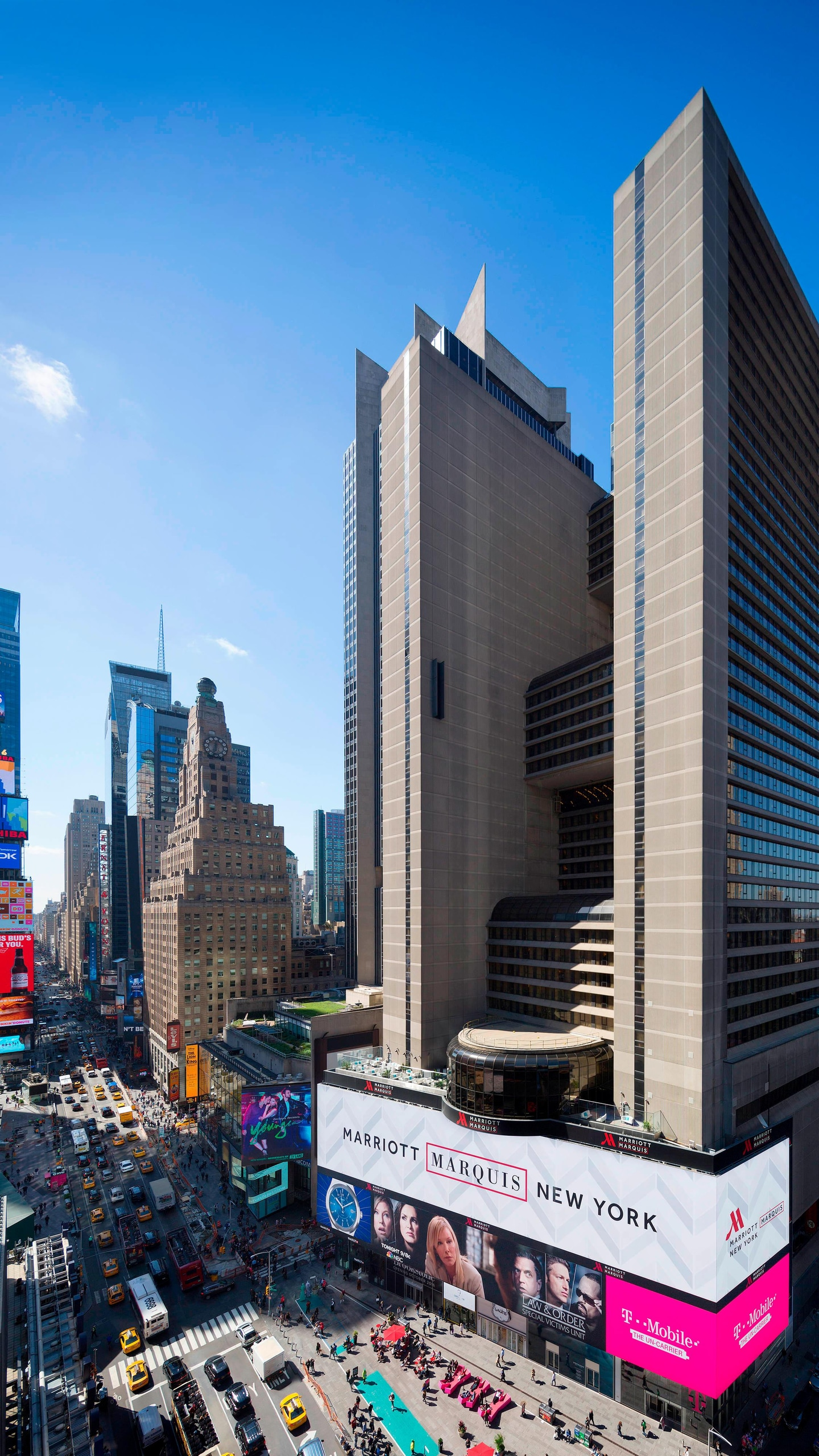 Marriott Marquis Times Square NYC.