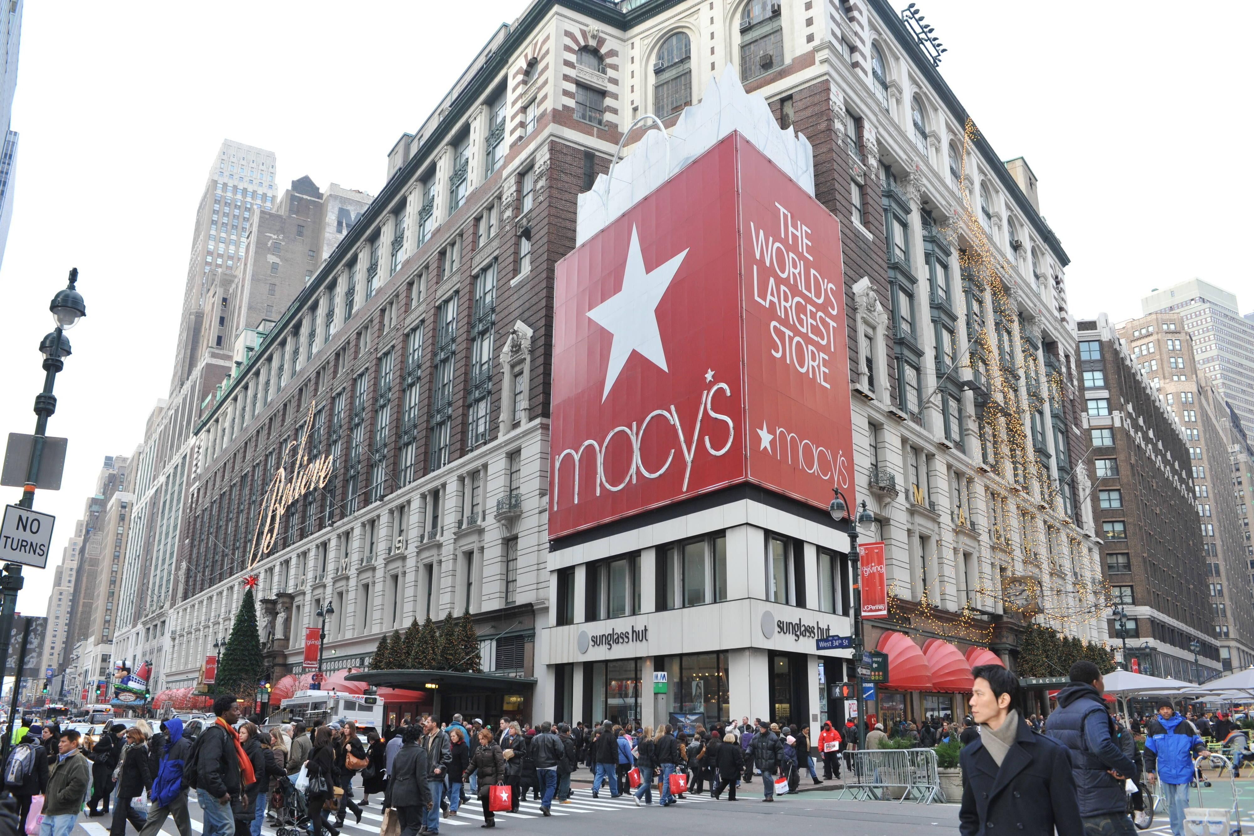 magasin macy's de herald square, à new york