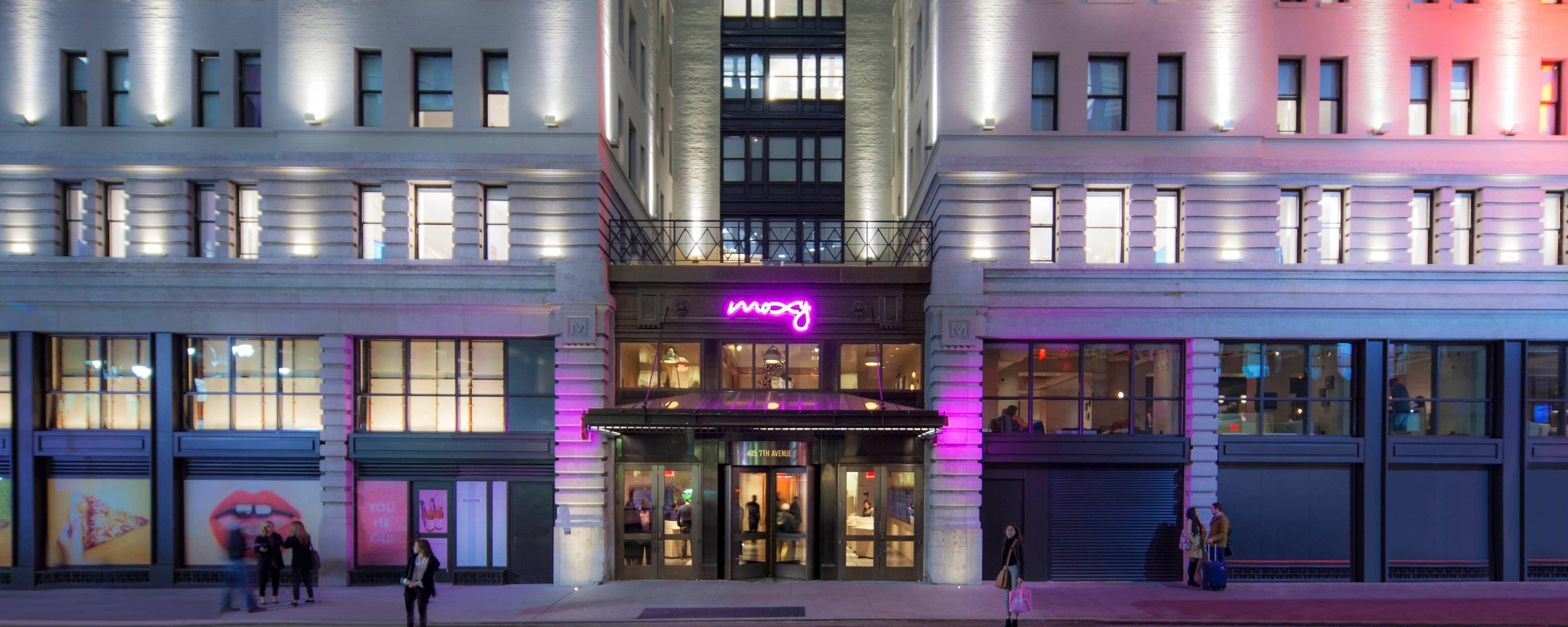 New York City Boutique Hotel Manhattan Moxy Nyc Times