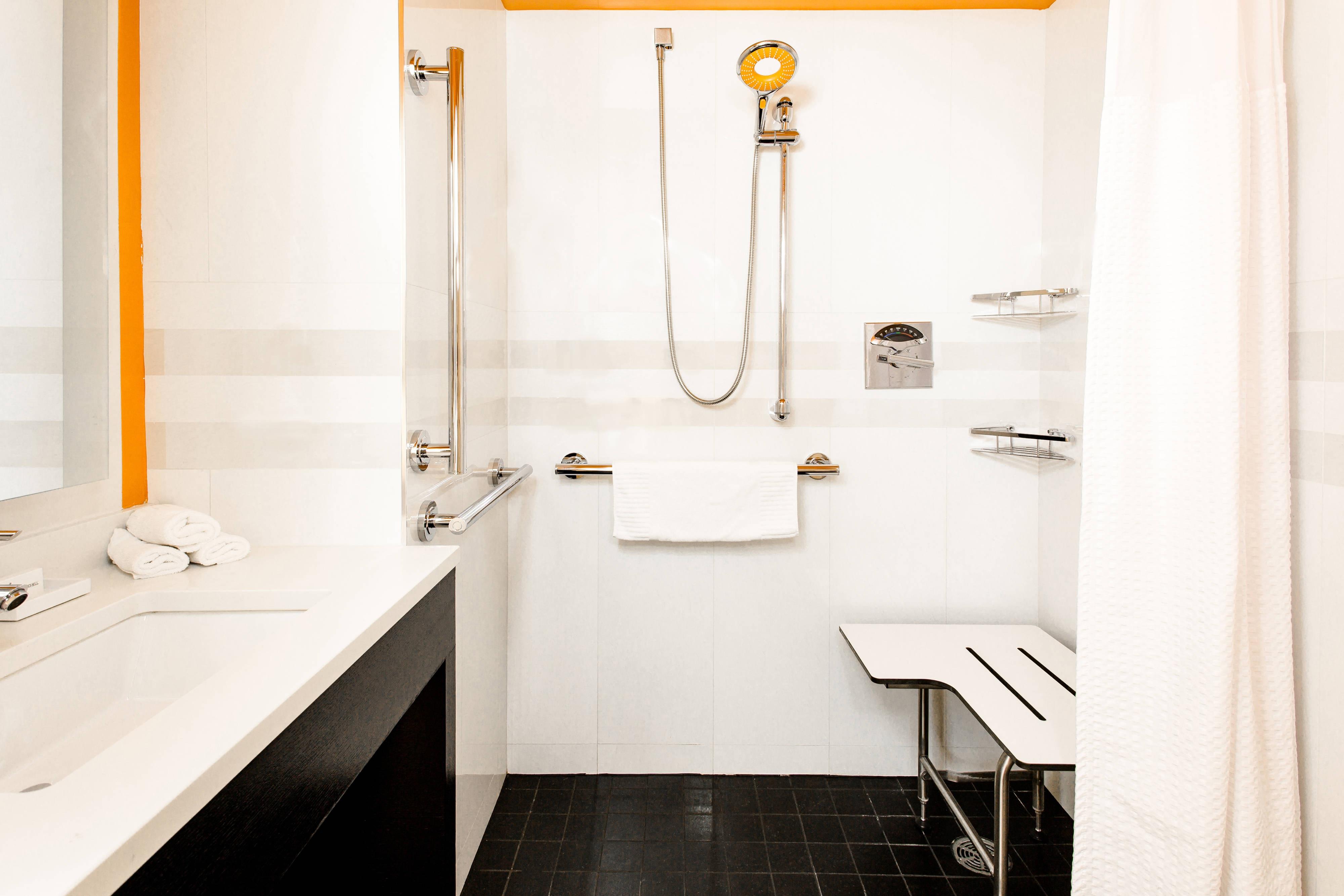 Banheiro de hóspede
